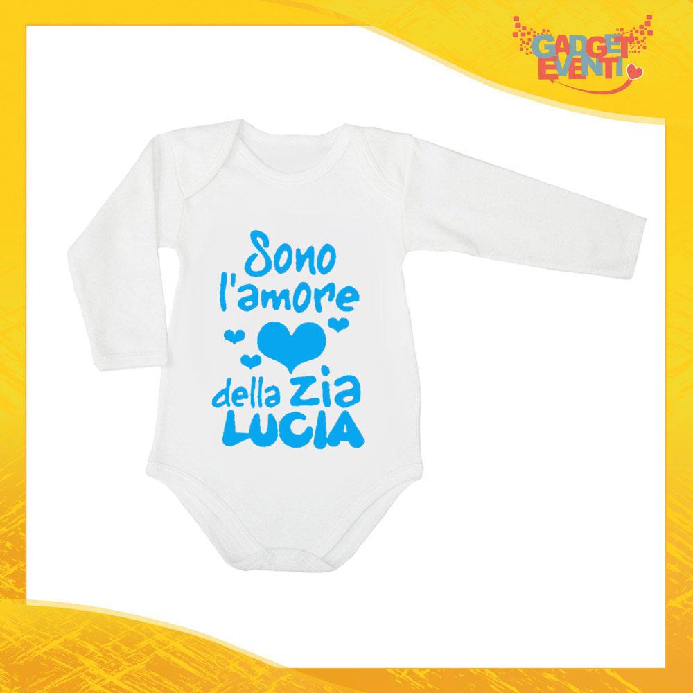 9a2b705199 Body Manica Lunga Neonato Azzurro Bodino Bimbo