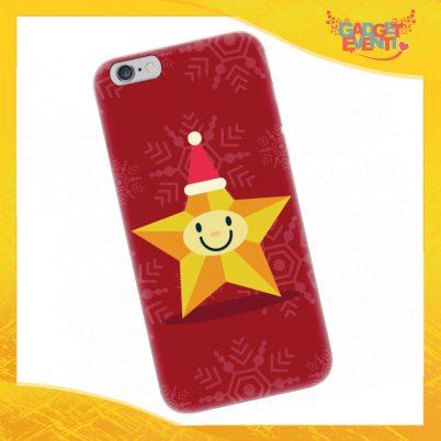 """Cover Smartphone Natale Cellulare Tablet """"Stella di Natale"""" Gadget Eventi"""