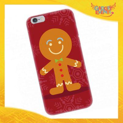 "Cover Smartphone Natale Cellulare Tablet ""Pupazzo di Natale"" Gadget Eventi"