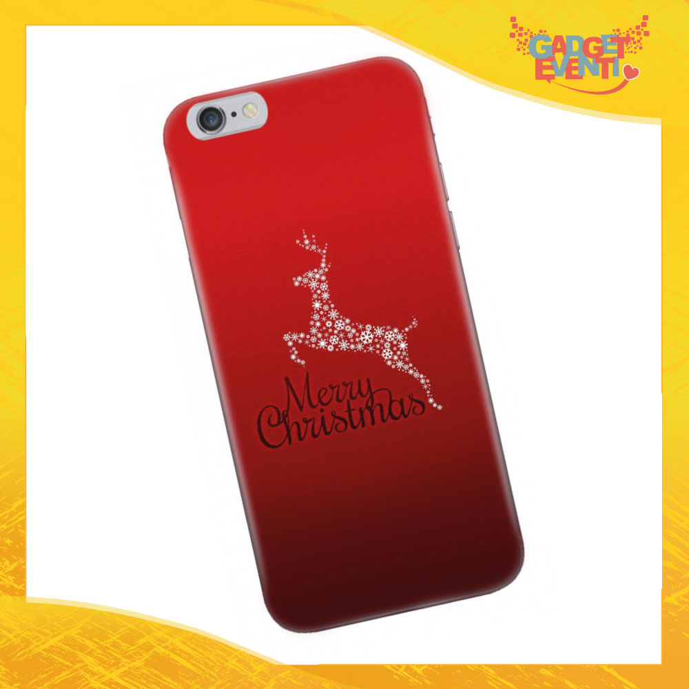 """Cover Smartphone Natale Cellulare Tablet """"Merry Christmas"""" Gadget Eventi"""