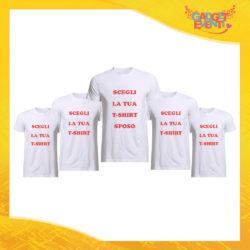 Pacchetto T-Shirt Magliette Addio al Celibato Gadget Eventi