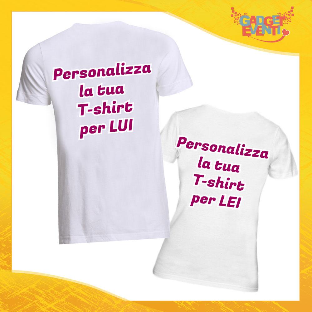 T-Shirt Coppia Personalizzabili Gadget Eventi