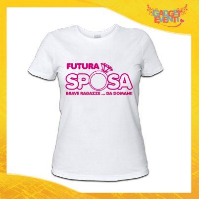 T-shirt addio al Nubilato FURURA SPOSA ANELLO