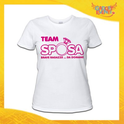 T-shirt addio al Nubilato BRAVE RAGAZZE DA DOMANI ANELLO