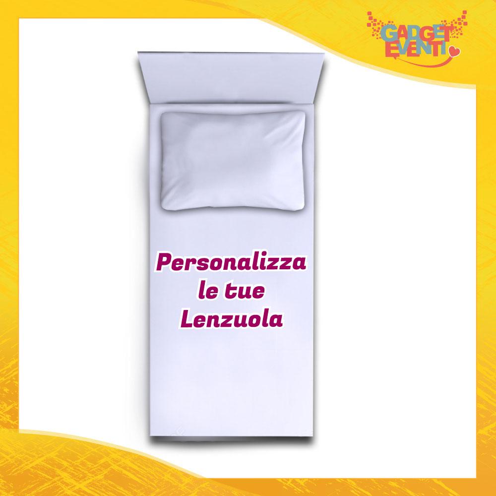 Lenzuolo / Copripiumino / Trapunta Bimbo per culla o lettino Personalizzabile Gadget Eventi