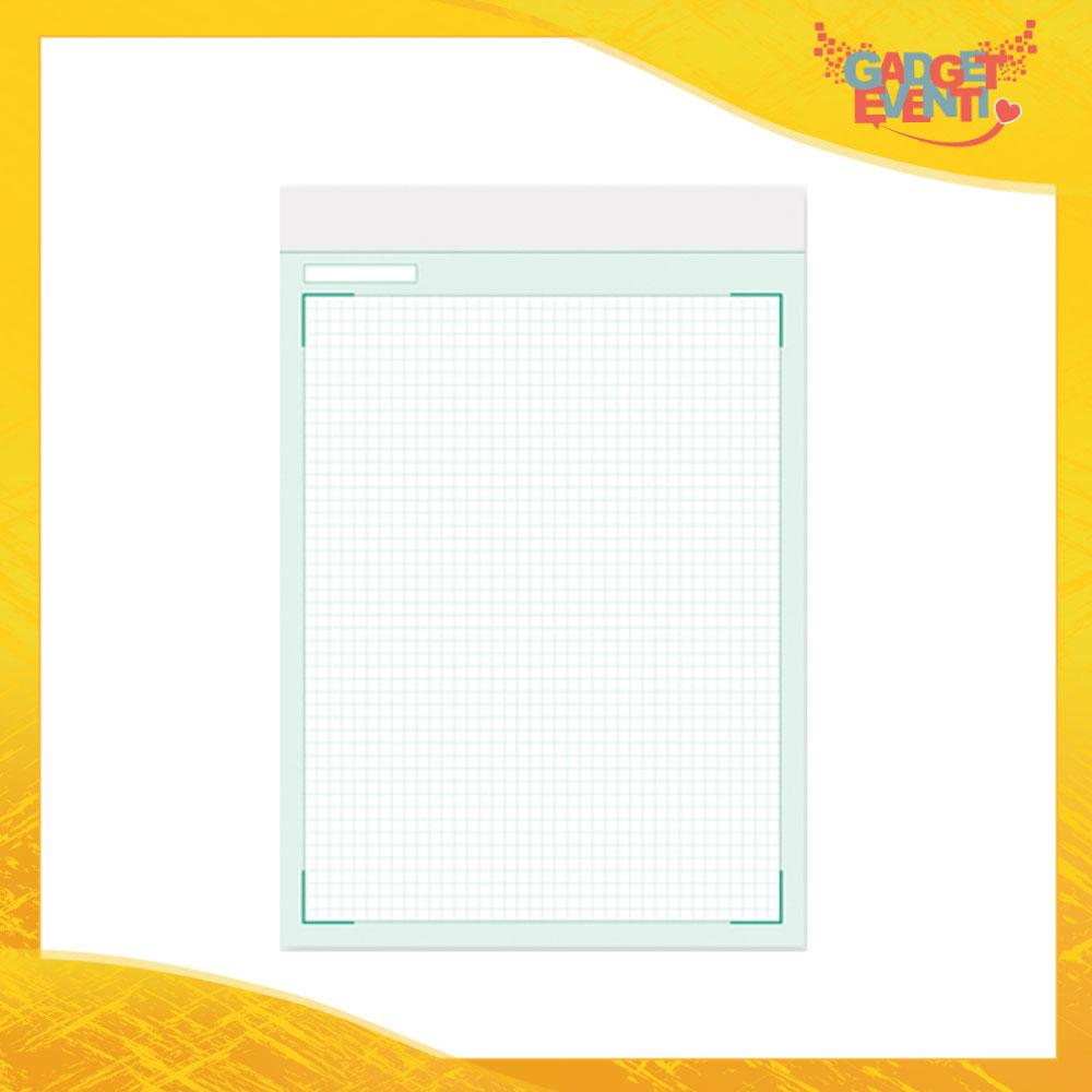 """Block Notes """"Blocco A4 Quadrettini"""" Materiale per Ufficio e Affari Gadget Eventi"""