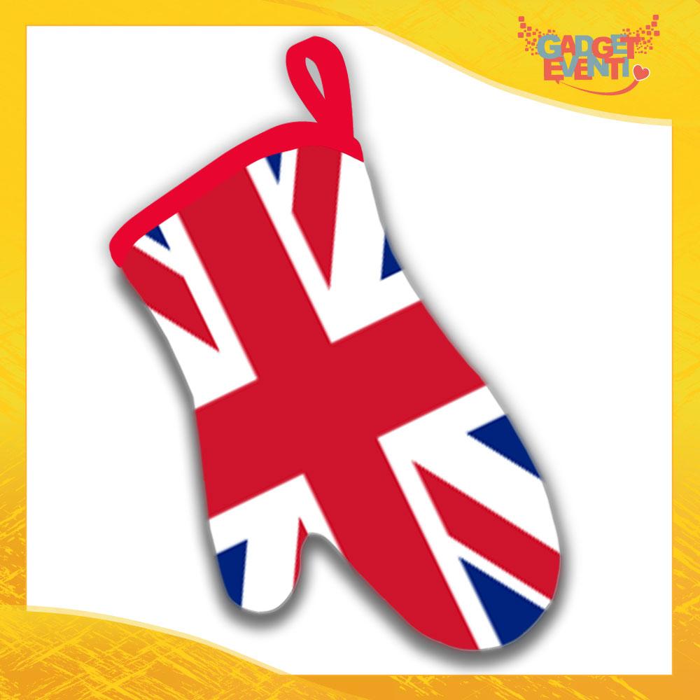 """Guanti da Forno Cucina """"England"""" Gadget Eventi"""