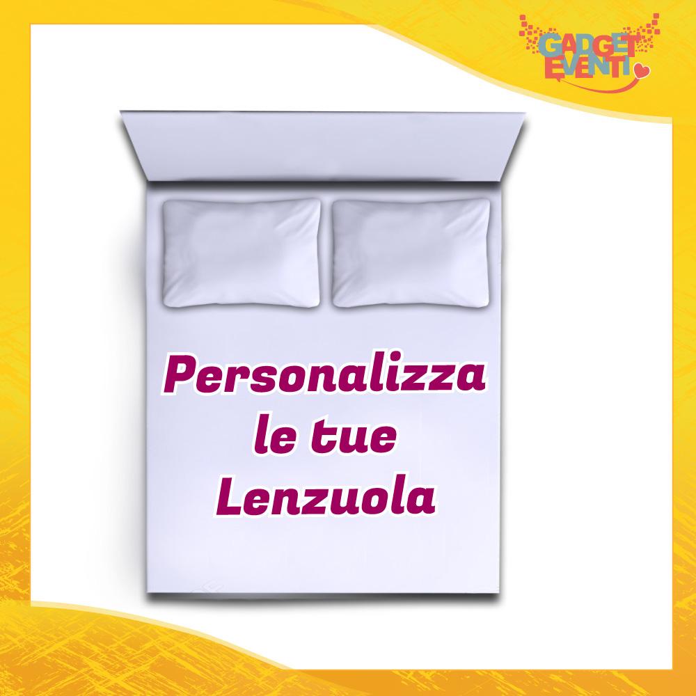 Lenzuolo | Copripiumino | Trapunta Letto Matrimoniale Personalizzabile Gadget Eventi