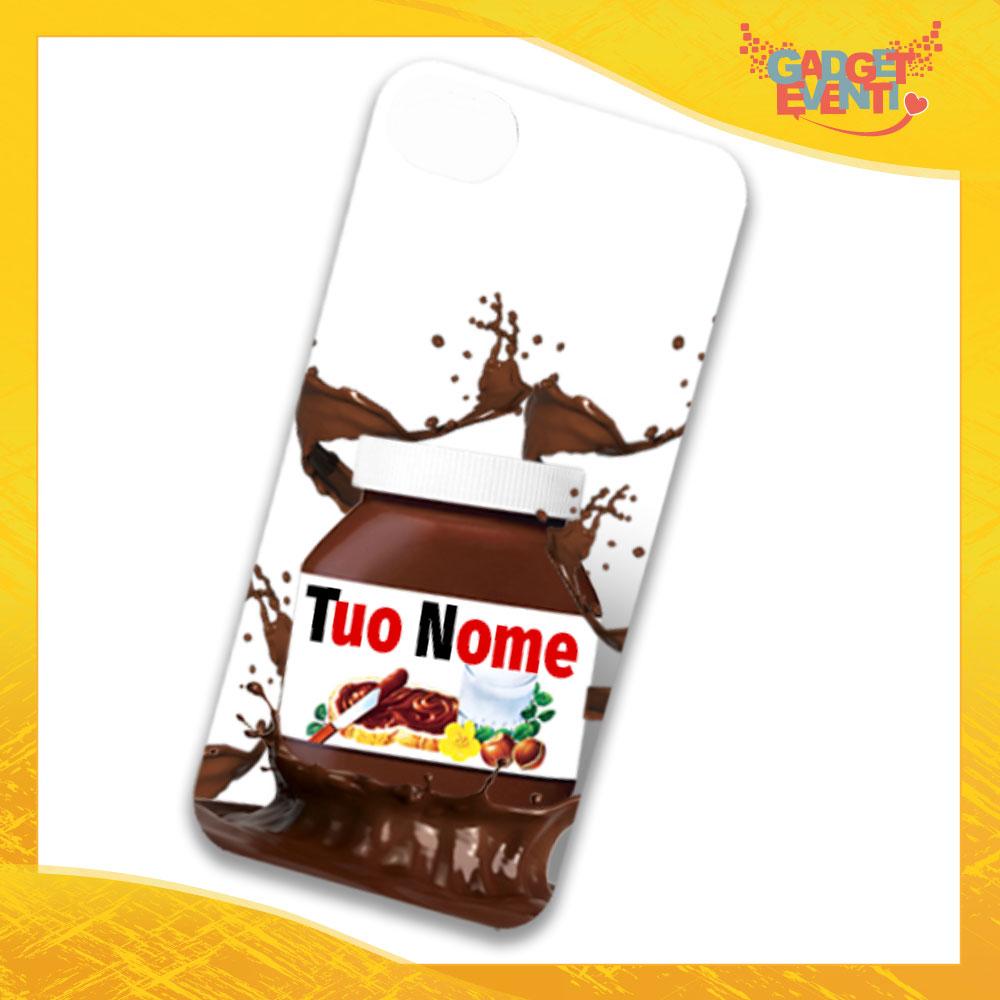 """Cover Smartphone Cellulare Tablet """"Tuo Nome Personalizzato Cioccolato"""" Gadget Eventi"""