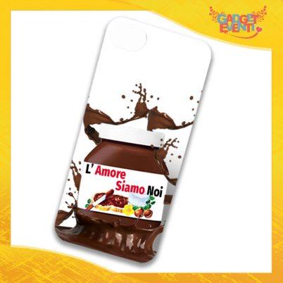 """Cover Smartphone Cellulare Tablet """"L'Amore siamo noi Cioccolato"""" San Valentino Gadget Eventi"""