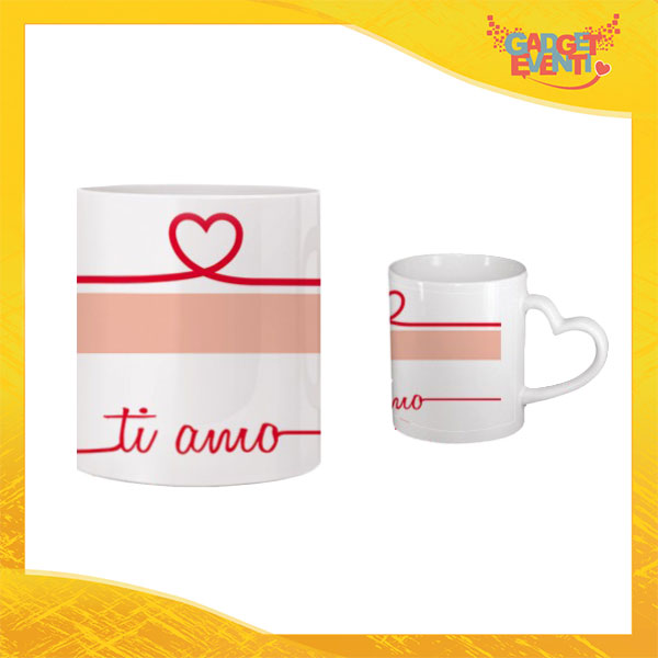 """Tazza dell'Amore """"Ti Amo Cuore"""" San Valentino Gadget Eventi"""