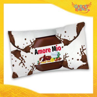 """Federa Singola per Cuscini Biancheria da Letto """"Amore Mio Cioccolato"""" San Valentino Gadget Eventi"""