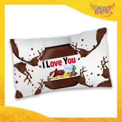 """Federa Singola per Cuscini Biancheria da Letto """"I Love You Testuale Cioccolato"""" San Valentino Gadget Eventi"""