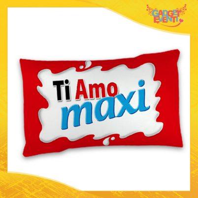 """Federa Singola per Cuscini Biancheria da Letto """"Ti Amo Bar Maxi"""" San Valentino Gadget Eventi"""