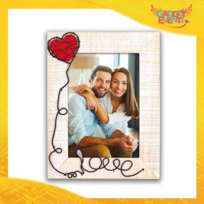 """Cornice Dell'Amore """"Palloncino Love Verticale"""" Portafoto San Valentino Gadget Eventi"""