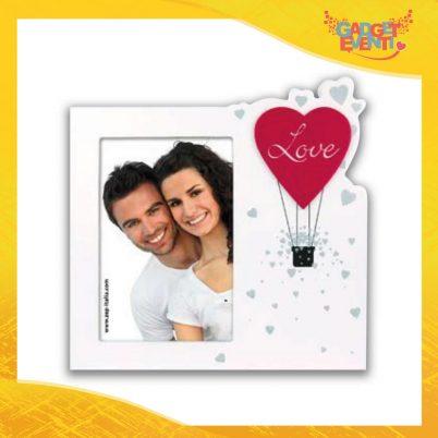 """Cornice Dell'Amore """"Mongolfiera Love Verticale"""" Portafoto San Valentino Gadget Eventi"""
