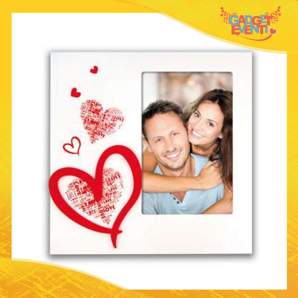 """Cornice Dell'Amore """"Amore Passionale Verticale"""" Portafoto San Valentino Gadget Eventi"""