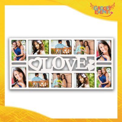 """Cornice Dell'Amore """"Love Multifoto"""" Portafoto San Valentino Gadget Eventi"""