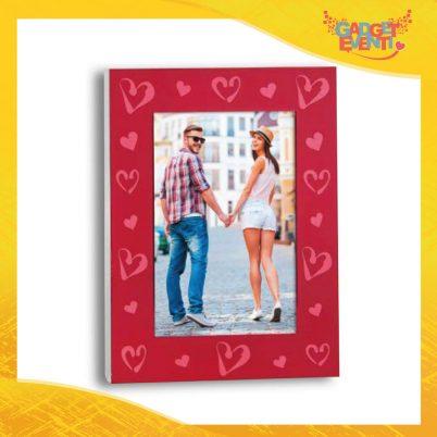 """Cornice Dell'Amore """"Collage Cuori Rossi"""" Portafoto San Valentino Gadget Eventi"""