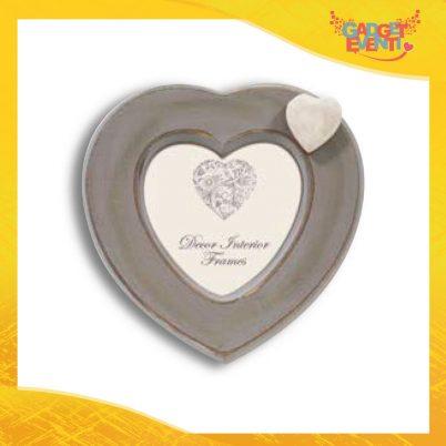 """Cornice Dell'Amore """"Dark Heart"""" Portafoto San Valentino Gadget Eventi"""
