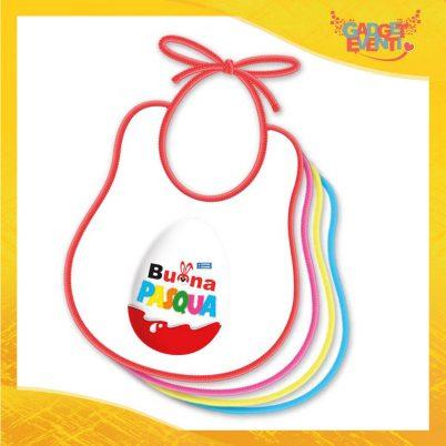 """Bavetto Bavaglino Bimbo """"Buona Pasqua Ovetto"""" idea regalo Pasqua Gadget Eventi"""
