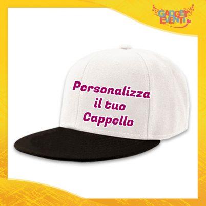 Personalizza il tuo Cappello Ricamato Berretto Snapback Visiera Larga Gadget Eventi