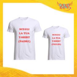 Scegli la tua Coppia di T-shirt Padre e Figlio Gadget Eventi