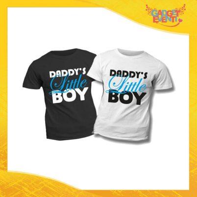 """T-Shirt Bimbo Maschietto """"Daddy's Little Boy"""" Idea Regalo Bambino Festa del Papà Gadget Eventi"""