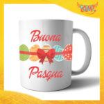 """Tazza per la Colazione Femminuccia """"Buona Pasqua Uova"""" Mug Idea Regalo Pasquale Pasqua Gadget Eventi"""