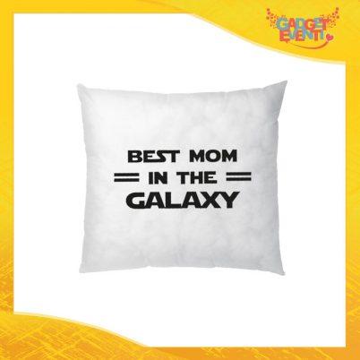 """Cuscino Quadrato """"Best Mom Galaxy"""" Idea Regalo Festa della Mamma Gadget Eventi"""