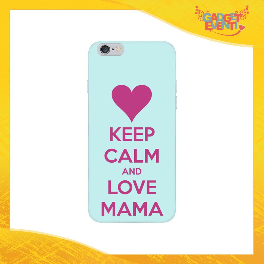 """Cover Smartphone """"Love Mama"""" Protezione per Cellulare Festa della Mamma Idea Regalo Gadget Eventi"""