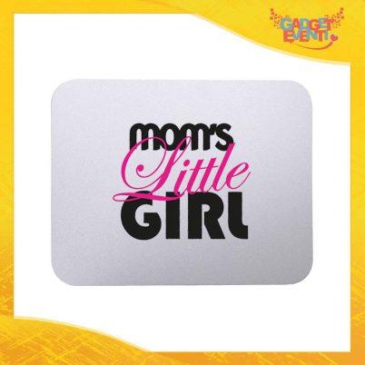 """Mouse Pad femminuccia """"Mom's Little"""" tappetino pc ufficio idea regalo festa della mamma gadget eventi"""