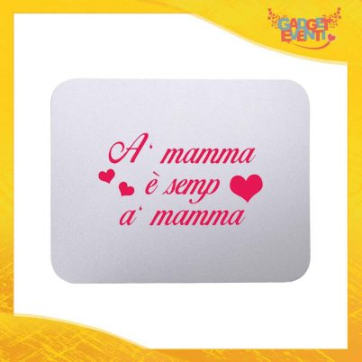 """Mouse Pad femminuccia """"Sei sempre tu"""" tappetino pc ufficio idea regalo festa della mamma gadget eventi"""
