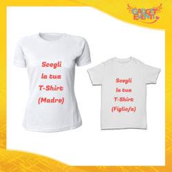Scegli la tua Coppia di T-Shirt Madre Figli Gadget Eventi