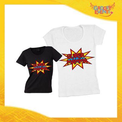 """Maglietta, t-shirt idea regalo festa della mamma """"Super Madre"""" - Gadget Eventi"""