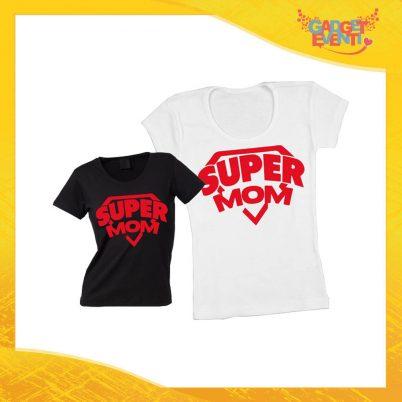 """Maglietta, t-shirt idea regalo festa della mamma """"Super Mom"""" - Gadget Eventi"""
