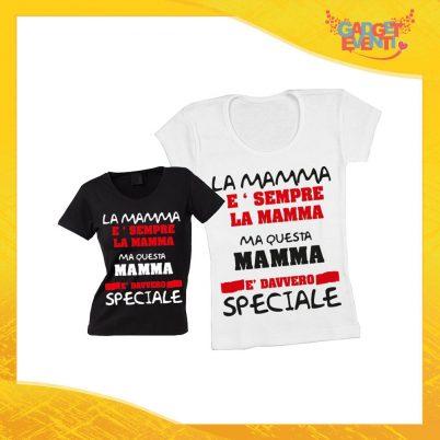 """Maglietta, t-shirt idea regalo festa della mamma """"Una Madre Speciale"""" - Gadget Eventi"""