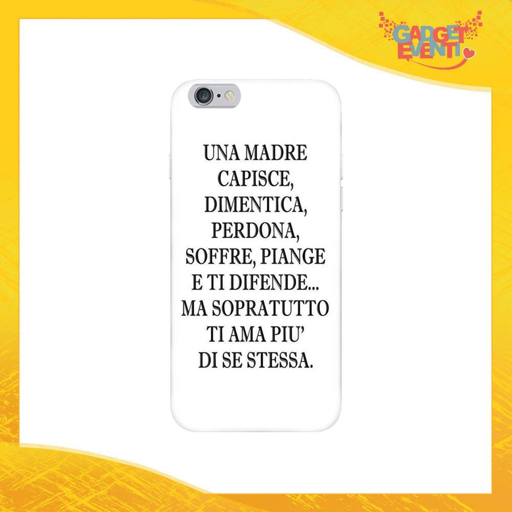 """Cover Smartphone """"Una Madre Capisce"""" Protezione per Cellulare Festa della Mamma Idea Regalo Gadget Eventi"""