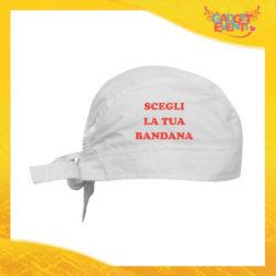 Scegli la tua Bandana da Cucina in diversi colori Idea Regalo per la Casa e la Ristorazione Cappellino Cappello Gadget Eventi