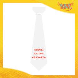 Scegli la tua Cravatta Personalizzata Idea Regalo Originale Gadget Eventi