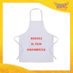 Scegli il tuo Grembiule da Cucina in diversi colori Ristorazione Idea Regalo per settore alimentare Gadget Eventi