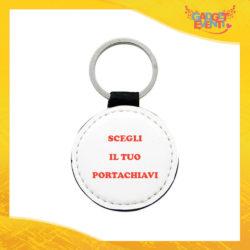 Scegli il tuo Portachiavi in Similpelle Personalizzato Idea Regalo Ecopelle Gadget Eventi