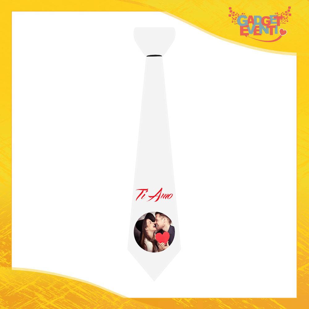 Esempio Cravatta Love per San Valentino Idea Regalo per Coppie di Innamorati Gadget Eventi