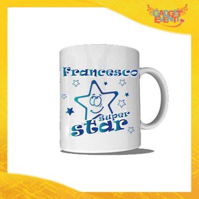 """Tazza """"Sono Io la Star"""" Colazione Breakfast Mug Idea Regalo Festa dei Nonni Gadget Eventi"""