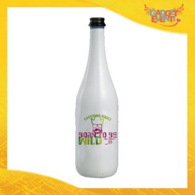 """Bottiglia da Vino Personalizzata """"Born To Be Wild"""" Idea Regalo Addio al Celibato Gadget Eventi"""