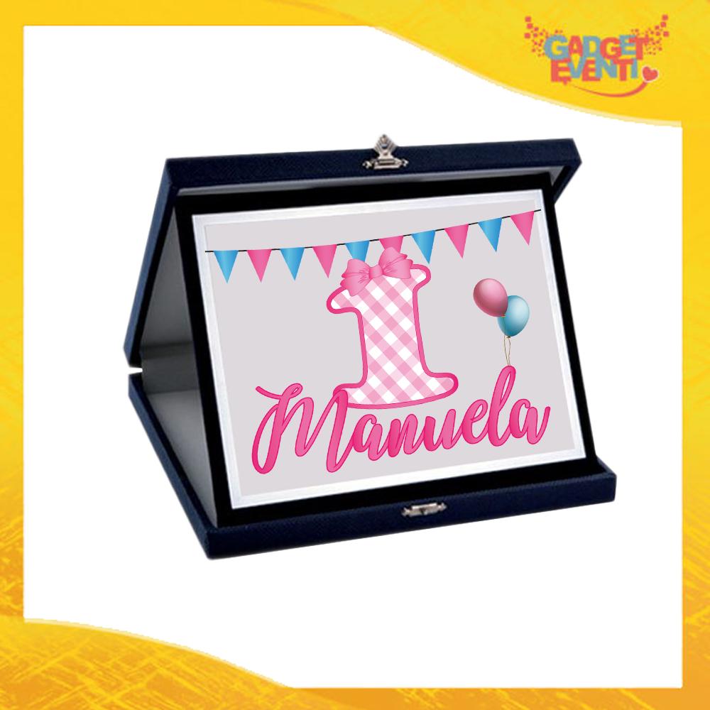 """Tazza Bimba Personalizzata """"Quadri Nome e Numero"""" Mug per Compleanni Regalo Tazze Originali per Feste di Compleanno Gadget Eventi"""