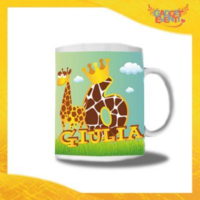 """Tazza Bimbo/a Personalizzata """"Safari Nome e Numero"""" Mug per Compleanni Regalo Tazze Originali per Feste di Compleanno Gadget Eventi"""