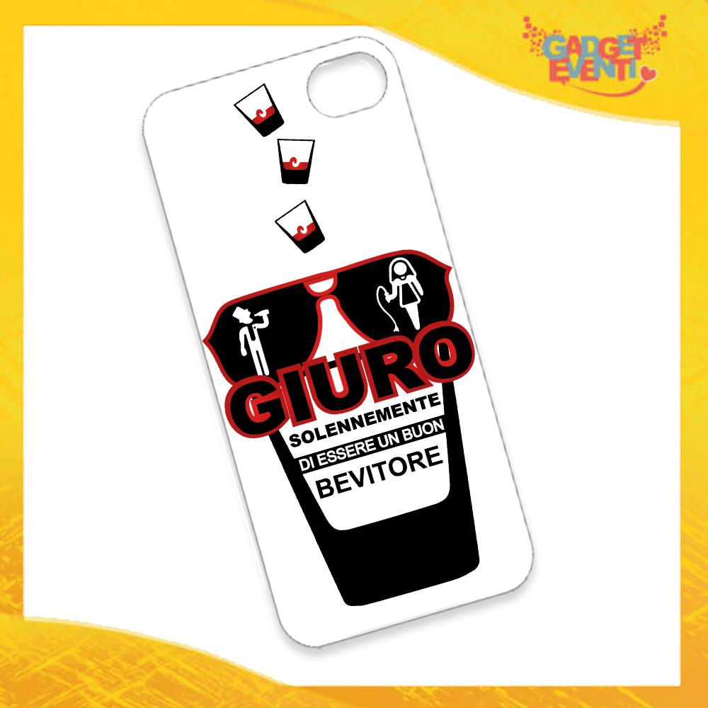"""Cover Smartphone Cellulare Tablet """"Giuro Solennemente"""" Addio al Celibato Gadget Eventi"""