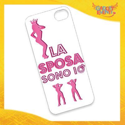 """Cover Smartphone Cellulare Tablet """"La Sposa Sono Io"""" Addio al Nubilato Gadget Eventi"""