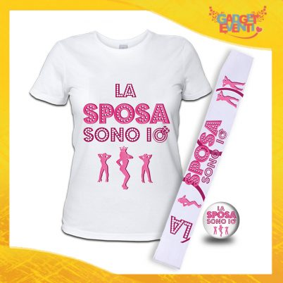 kit party addio al Nubilato LA SPOSA SONO IO BIANCO